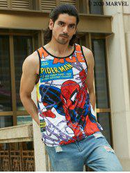 Marvel Spider-Man Allover Print Tank Top -