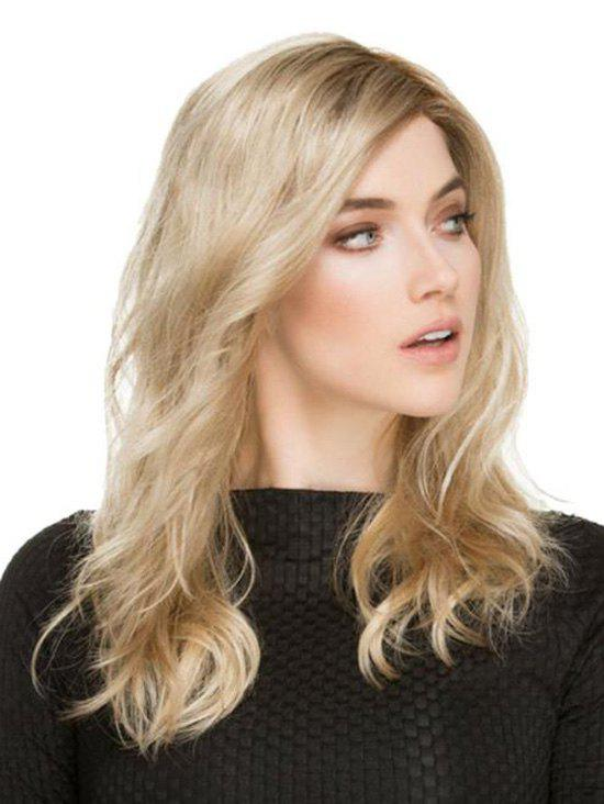 Best Medium Side Part Wavy Gradient Synthetic Wig