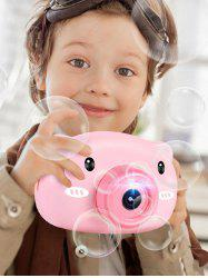 Cartoon Piggy Flash Bubble Camera Toy -