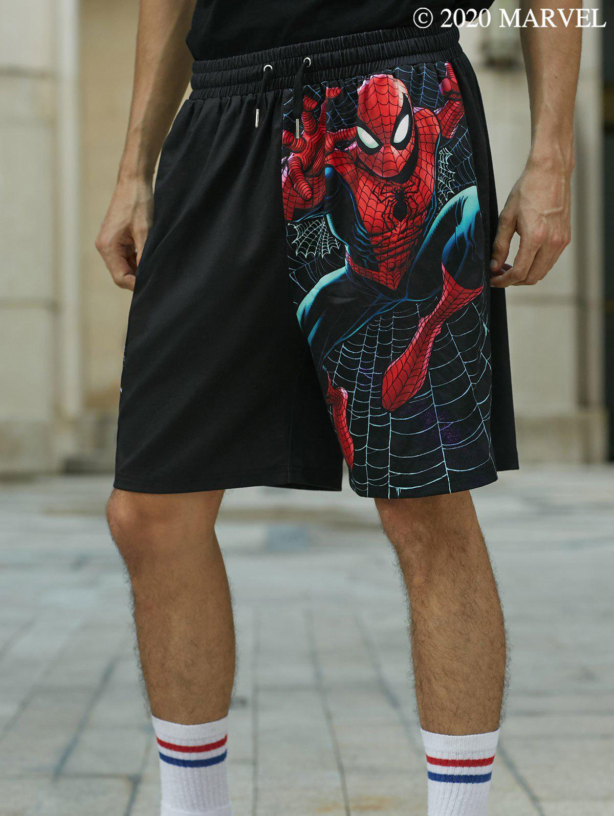 Cheap Marvel Spider-Man Graphic Shorts