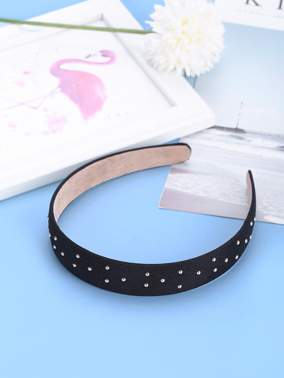 Outfit Retro Rivet Fabric Wide Hairband