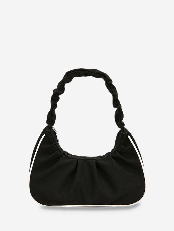 Best Ruched Nylon Piped Tote Bag