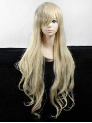 Long Side Bang Wavy Heat Resistant Fiber Anime Synthetic Wig -