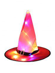 Halloween Lights Luminous Cosplay Witch Hat -