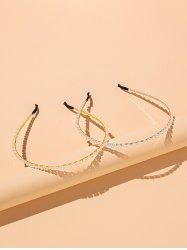 2 Pieces Faux Pearl Hair Bands -