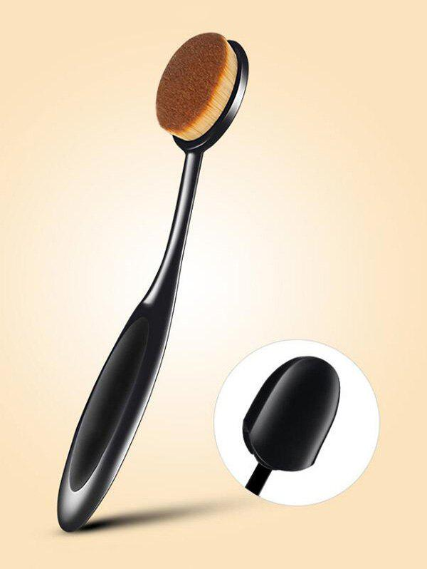 Store Tooth Brush Shape Oval Makeup Foundation Brush