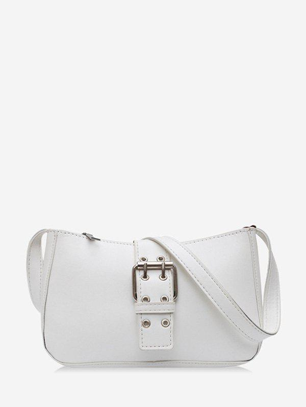 Affordable O Ring Buckle Zipper French Shoulder Bag