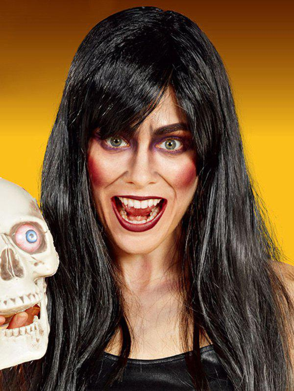 Halloween Dressed Long Full Bang Straight Synthetic Wig фото