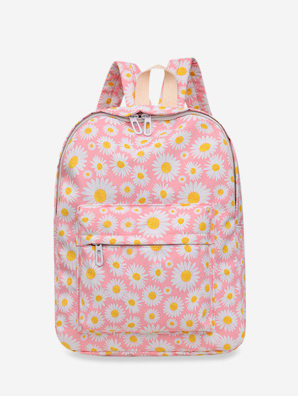 Buy Daisy Floral Print Nylon Top Handle Backpack