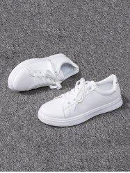 Casual Lace-up Flat Sports Shoes -