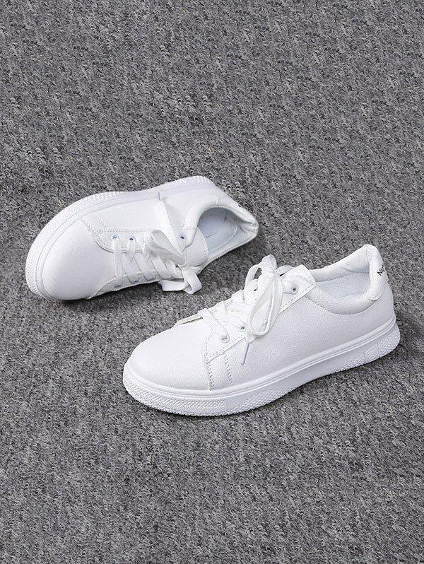 Affordable Casual Lace-up Flat Sports Shoes