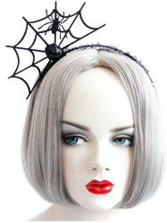Halloween Party Cosplay Spider Web Shape Hair Band -