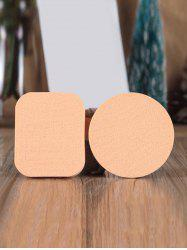 2Pcs Wet and Dry Dual Use Makeup Sponge Puff -