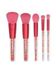 5Pcs Multi-function Makeup Brushes Set -