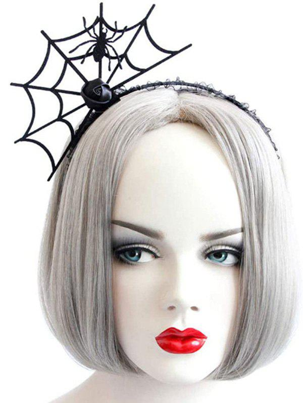 Cheap Halloween Party Cosplay Spider Web Shape Hair Band