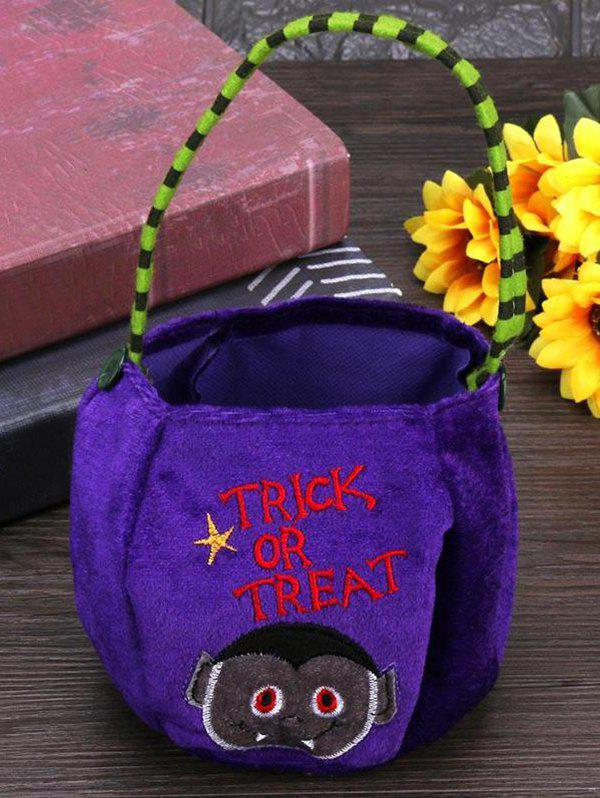 Best Halloween Pattern Velvet Gift Bags Candy Bag