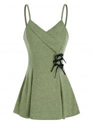 Bowknot Fit And Flare Slip Tank Top -