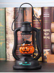 Halloween Horrible Laughter Pumpkin Colored Lantern -