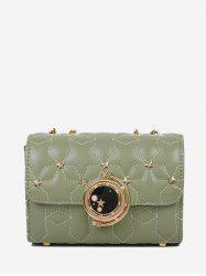 Star Chain Rectangle Cover Crossbody Bag -