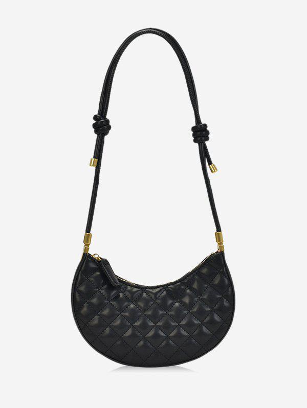 Store Casual Knot PU Quilted Shoulder Bag