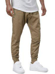 Drawstring Casual Tapered Pants -