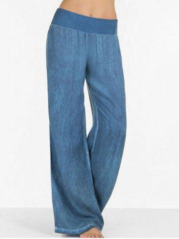 High Rise Wide Leg Casual Pants