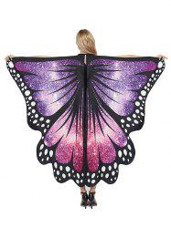 Party Cosplay Butterfly Wing Pattern Decorative Cape -