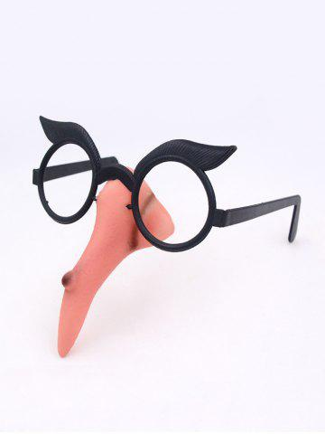 Halloween Dress Up Props Witch Nose Glasses