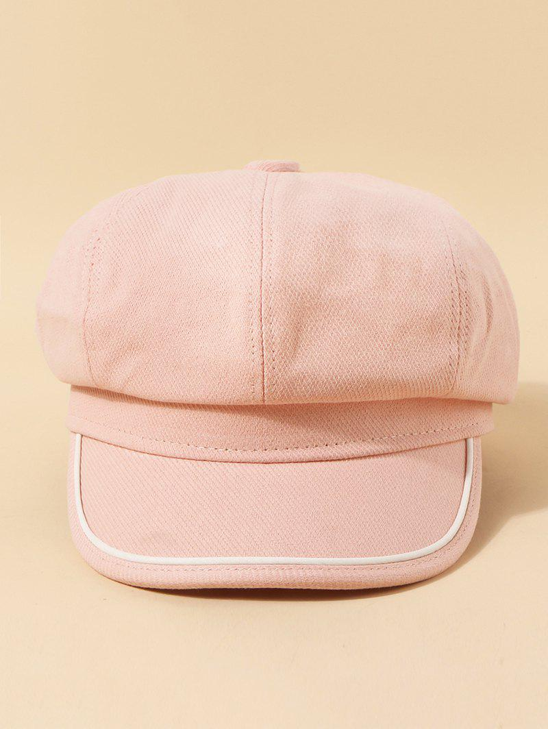 Chic Piped Octagonal Cap
