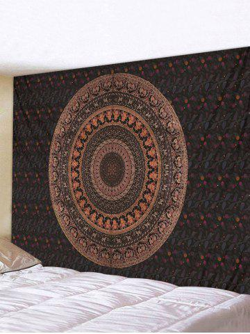 Bohemian Circular Pattern Waterproof Wall Tapestry