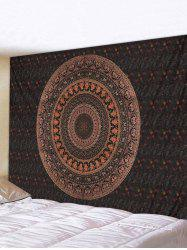 Bohemian Circular Pattern Waterproof Wall Tapestry -