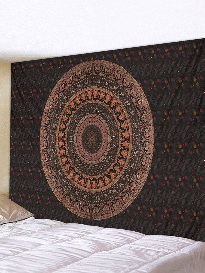 Unique Bohemian Circular Pattern Waterproof Wall Tapestry