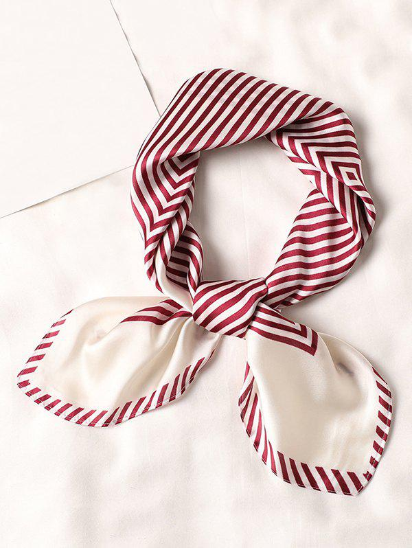 Buy Striped Small Square Scarf
