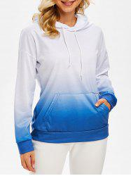 Ombre Front Pocket Hoodie -