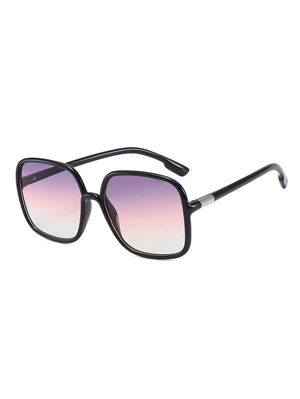 New Travel Square Anti UV Sunglasses