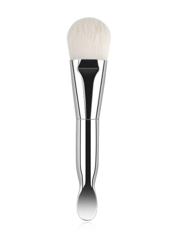 Sale Beauty Tool Double-ended Mask Brush With Spoon