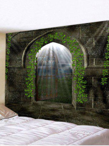 Castle Door Pattern Tapestry Wall Hanging Art Decoration