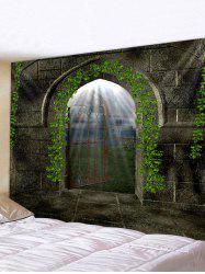 Castle Door Pattern Tapestry Wall Hanging Art Decoration -