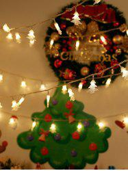 Christmas Tree Decorated Fairy Lights LED String Lights -