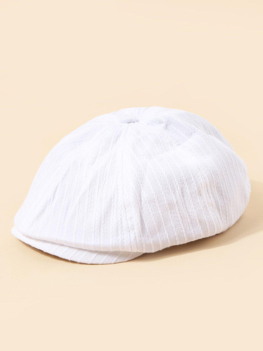 Discount Casual Twist Stripes Newsboy Cap
