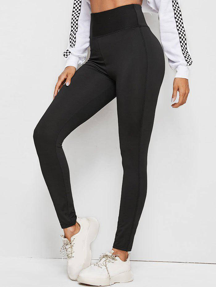 Store Mesh Insert High Rise Sporty Leggings