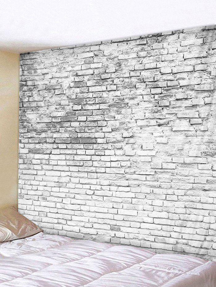 Online 3D Print Brick Wall Home Decor Tapestry
