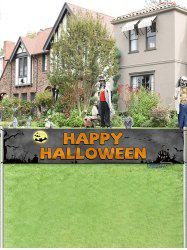 Halloween Party Flag Garden Decor Banner -