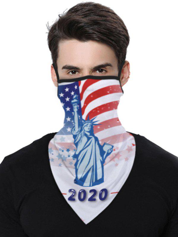 Store Stars And Stripes Flag Pattern Outdoor Protection Mask Scarf