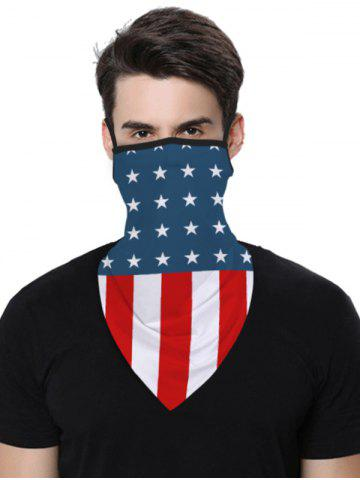 Sports Outdoor Flag Print Multifunction Mask Scarf