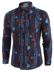 Star Spotty Vintage Long Sleeve Shirt -