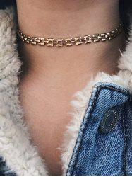 Chain Simple Choker Necklace -
