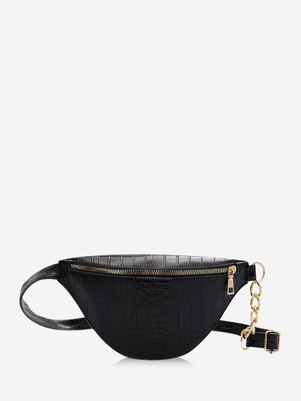 Outfits Zip Chain Crossbody Bag
