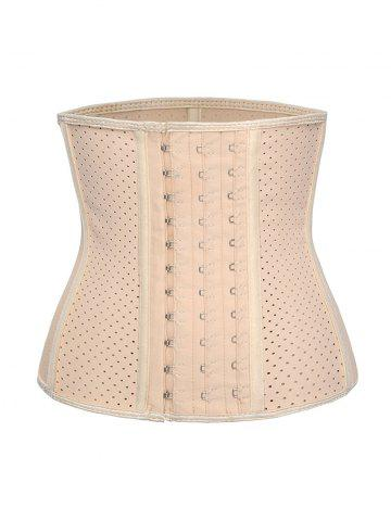 Corset Respirant Grande Taille - LIGHT COFFEE - XL