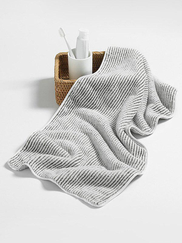 Striped Absorbent Bath Face Towel